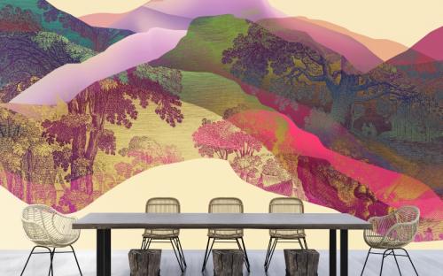 300 Motive auf verschiedenen Vliesqualitäten für den privaten Bereich oder auch das Objekt umfasst die neue Kollektion walls by patel 3.