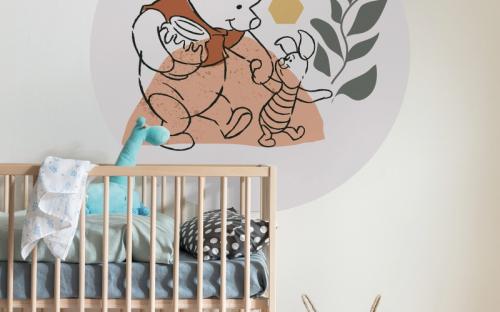 Selbstklebende Dots: Die Into Adventure-Kollektion wurde von Komar speziell für Kinder, werdende Mütter und Teenager mit Abenteuersehnsucht entwickelt.