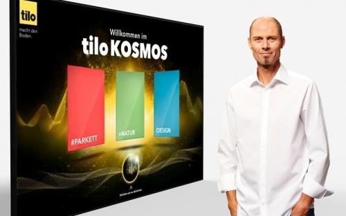 """Bodenbelagshersteller tilo lädt am 28. Januar 2021 zum tilo Kosmos Live-Event ein. """"Digitalisierung ermöglicht es, neue Erlebniswelten zu erschaffen"""", sagt Geschäftsführer Herbert Kendler. Anmeldungen sind ab sofort online möglich."""