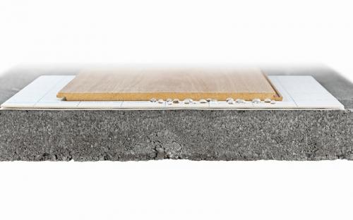 Die Acoustic Boad Famile besteht aus innovationsgetriebenen Produkten mit dem Fokus auf Nachhaltigkeit und Ökologie, die exklusiv bei Repac erhältlich sind. Für den Verleger sind diese recycelbaren, leichten Produkte problemlos zu transportieren und einfach im Handling. Im Bild: Acoustic Board hydro-tec.