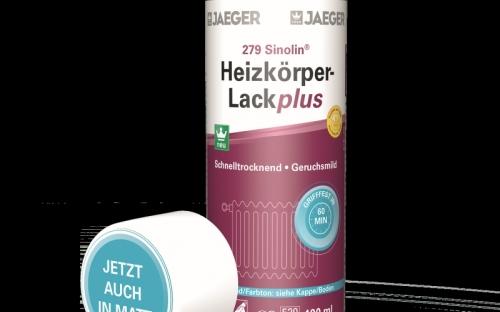 Ergänzend zum neuen Lack-Spray bringt Jaeger mit seinem neuen Aqua Heizkörperlack ab sofort auch gleich noch eine Streichvariante auf Wasserbasis in den Handel. Sie ist ebenfalls in hochglänzend, seidenglänzend und matt erhältlich.