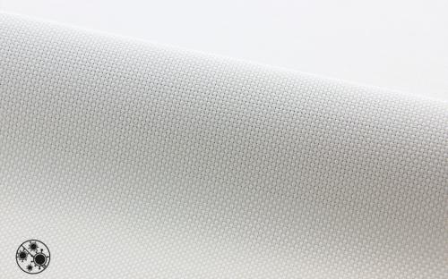 In sechs zeitlosen Farben von Weiß über Beige bis hin zu Grau- und Schwarztönen ist der neue antivirale Screen für Fensterdekorationen erhältlich.