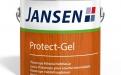 Mit Protect-Gel komplettiert der Hersteller Jansen sein Lasuren-Sortiment im thixotropen Bereich. Das Holzschutz-Produkt ist ab sofort im Handel erhältlich.