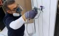 Der geringe Druck, mit dem Rubbol BL Easy Spray und Rubbol BL Rezisto Spray versprüht werden, schont die Düsen und Spritzgeräte.