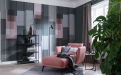 Elegant ist auch immer ein wenig extravagant: der Trend New Elegance mit aussdrucksstarken Tapeten, Farben, Möbeln, Leuchten und Teppichen.