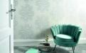 Das Farbspektrum der Kollektion Elle Decoration umfasst sanfte Töne ebenso wie kräftige, zukunftsweisende Farben. Hinzu kommen attraktive Unitapeten.
