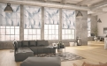 """Das Teba Eigendesign """"Polygon"""": Die neue Teba Duette Wabenplissee Kollektion bietet ein breites Spektrum  an Angeboten für alle Fensterformen, Wohnsituationen und individuellen Kundenwünschen."""
