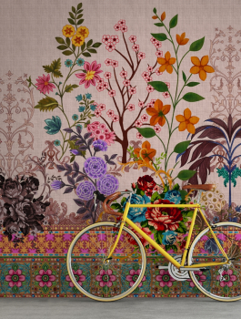 Das Designerpaar Kathrin und Mark Patel bietet auch mit der dritten walls by patel-Kollektion die Möglichkeit, Wände emotional und sinnlich zu inszenieren.